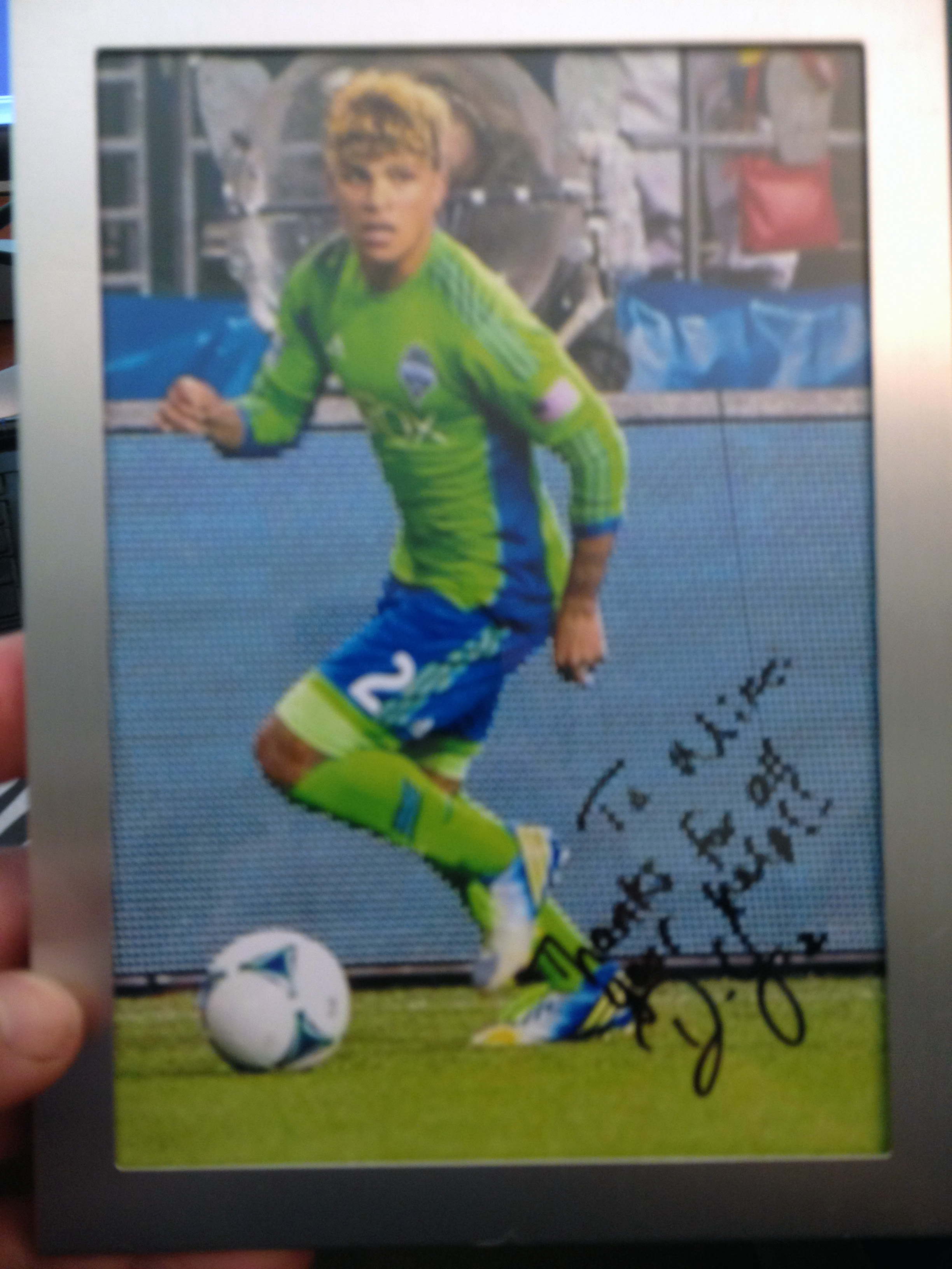 DeAndre Yedlin Thanks Mike Margolies