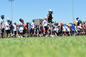 football camp program using mental training
