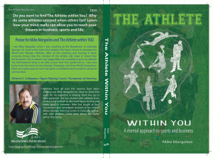 The Athlete within You mental game training