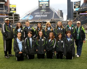 sport psychology consultants and youth soccer at sounders fc game