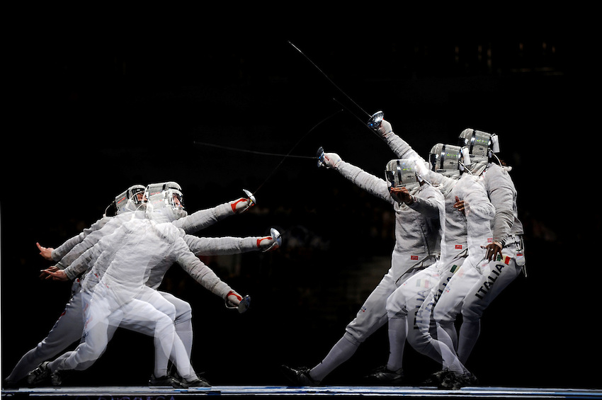 Mental Game of Sabre Fencing