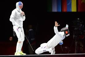 Mental game of fencing